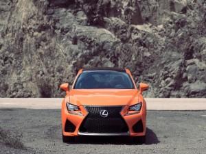 Postal: Un Lexus RC F