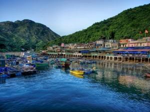 Postal: Isla Lamma, Hong Kong