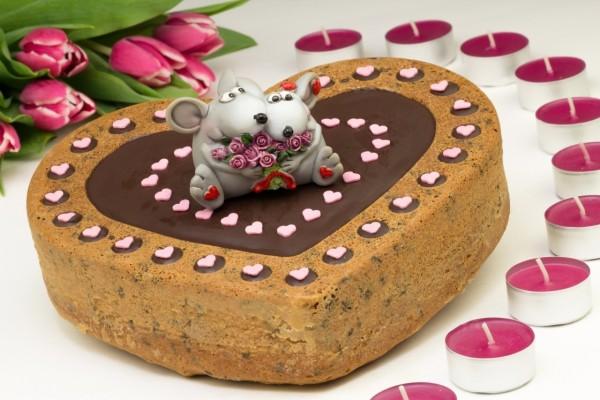 Tarta para celebrar el Día de San Valentín