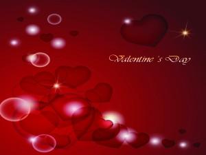 Postal: Día de San Valentín