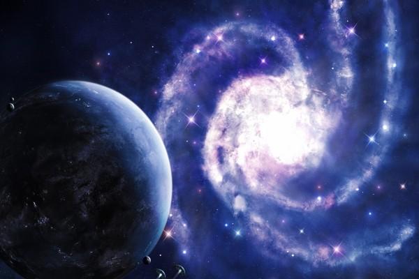Gran galaxia brillante