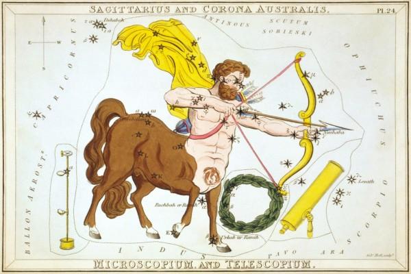 Imagen de la constelación de Sagitario