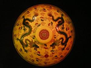 Postal: Dragones orientales