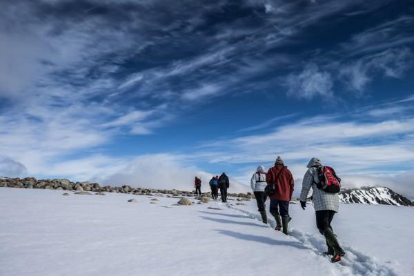 Excursión en la nieve