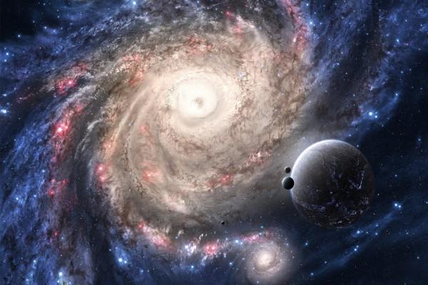 Una gran galaxia