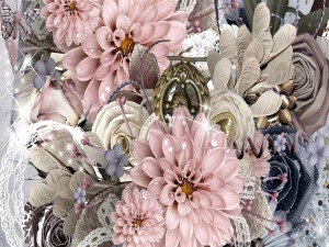 Joyas entre grandes flores