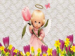 Ángel de la primavera