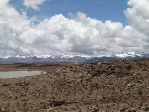 Cordillera en Arequipa (Perú)