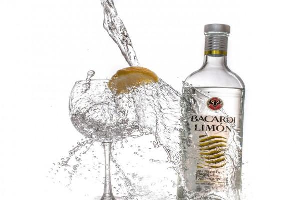 Bacardi con limón