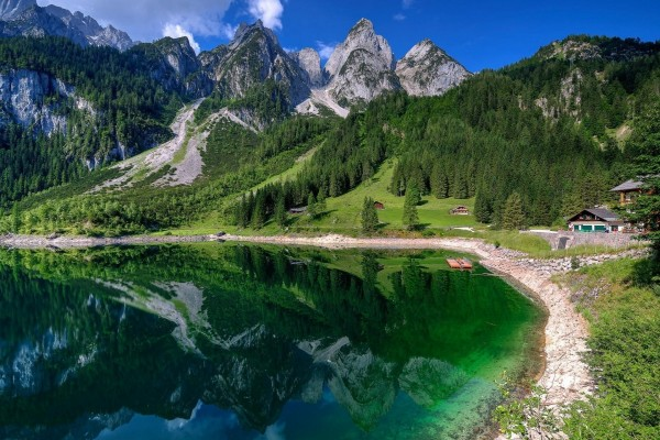 Espectacular paisaje en Suiza