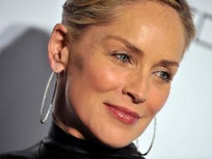 La atractiva modelo y actriz Sharon Stone