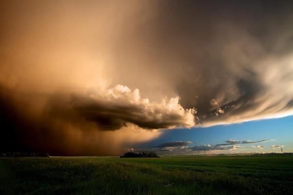 Magníficas nubes de tormenta