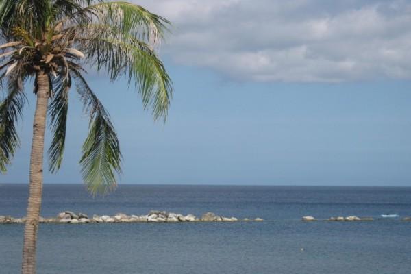 Relajante día de verano en el mar