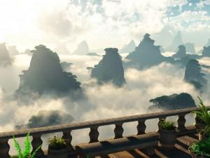 Lugar para contemplar el hermoso paisaje