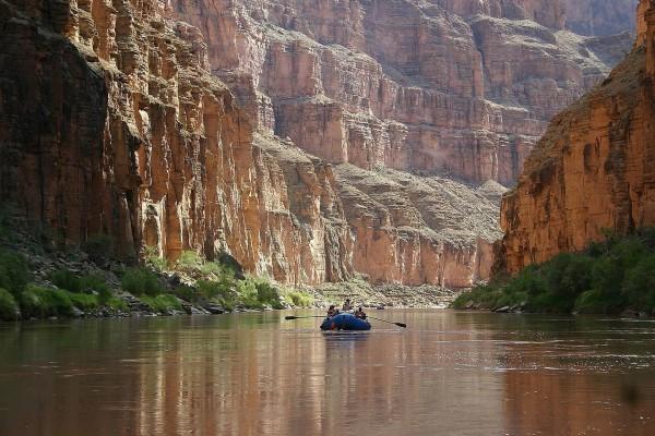 Navegando por el río Colorado