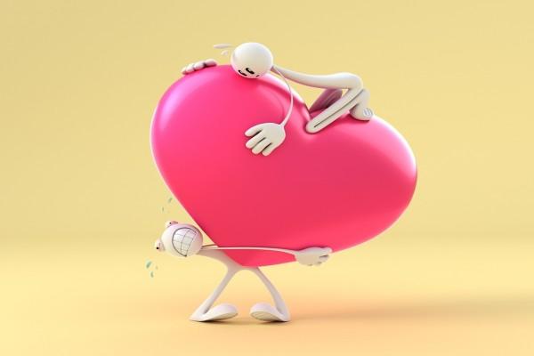 ¡Qué corazón tan pesado!