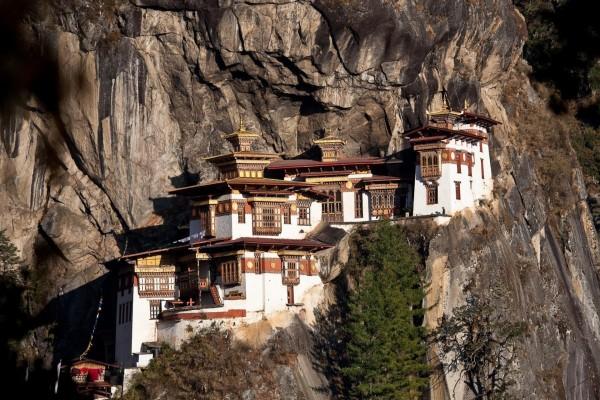 El impresionante monasterio Taktshang