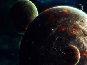 Planetas en guerra