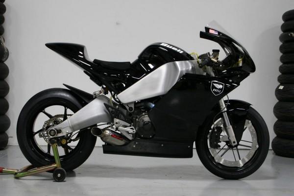 Una motocicleta Buell