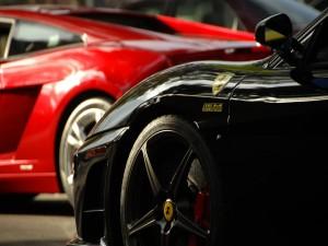 Postal: Coches Ferrari