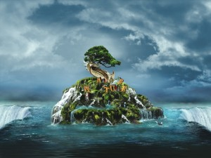 Postal: Isla Nature