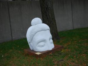 Cabeza de un Buda