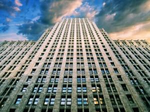 Ventanas en un gran edificio