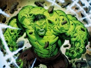 Postal: El increíble Hulk