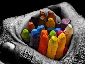 Las manos de un artista