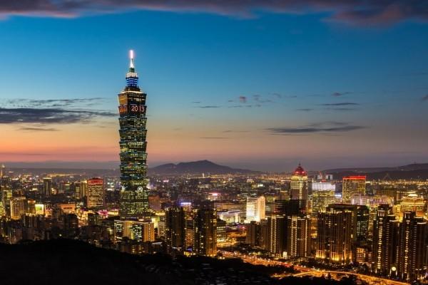 Atardecer en Taipéi