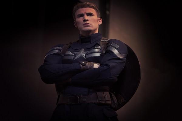 Chris Evans en su papel de Capitán América