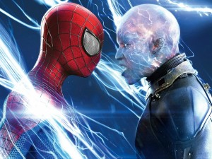 Postal: Spiderman vs Electro