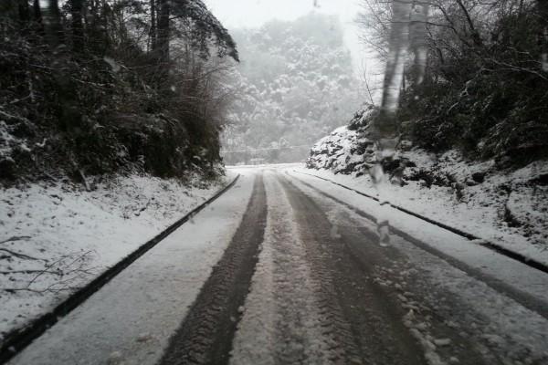 Carretera en invierno