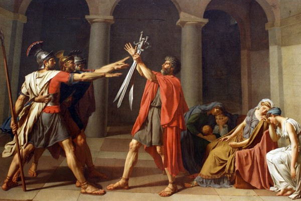 Juramento de los Horacios (Jacques-Louis David)