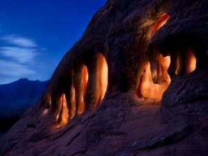 Cuevas iluminadas