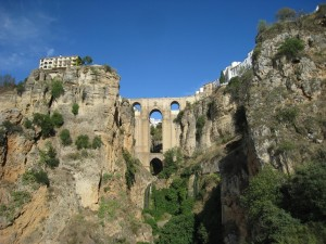Postal: Vista del Tajo de Ronda (Málaga, España)