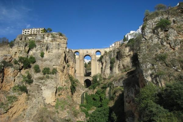 Vista del Tajo de Ronda (Málaga, España)