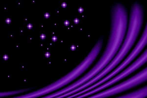 Luz abstracta púrpura