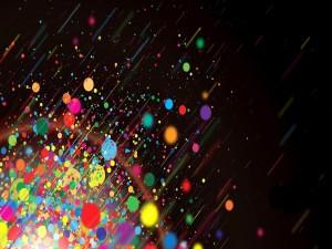Postal: Explosión de colores