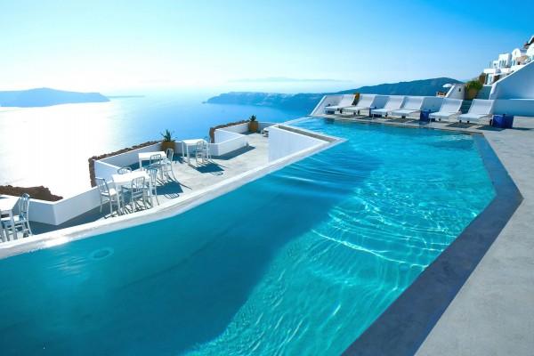 Hotel con vistas al mar