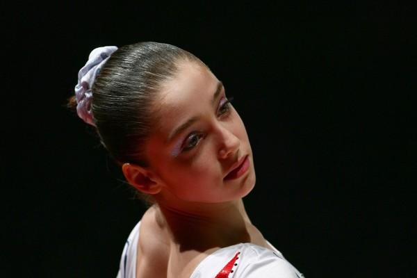 La gimnasta Aliyá Mustáfina