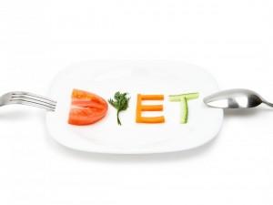 Plato de dieta