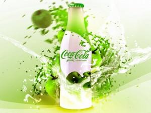 Postal: Coca-Cola verde edición limitada