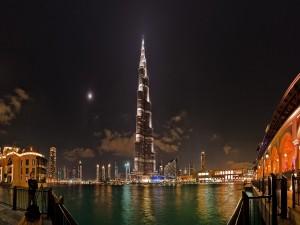 Noche en Dubai