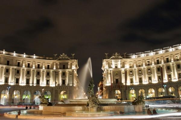 Fuente de las Náyades, Roma