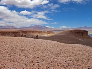 Postal: Desierto de Atacama en Chile