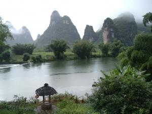 Postal: Montañas de Guilin,Yangshuo (China)