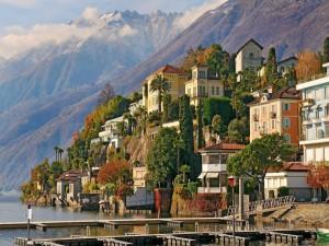 Ascona, ciudad historíca de Suiza