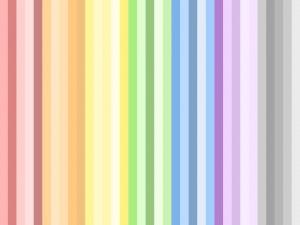 Imagen con rayas de colores