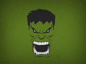 La cabeza de Hulk